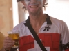 Cyclist #1 - it's a hell of a long way to come for a beer