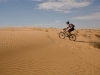 Rider #7, riding the sand hills
