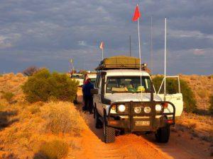 Lead convoy, Simpson Desert Bike Challenge
