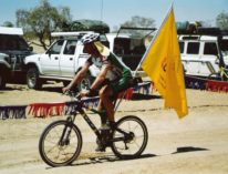 F19 Day 5 Race Finish Dave - Inner Birdsville Track QLD