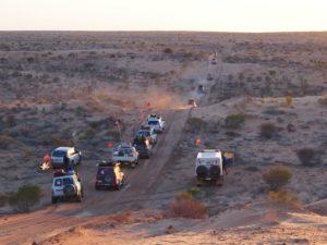 Simpson Desert Convoy